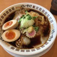 富里市七栄 296号沿い「肉そば けいすけ」に初訪問