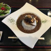 成田山新勝寺近く 熟成肉の听(ポンド)でランチ 名物のキーマカレーが美味い!