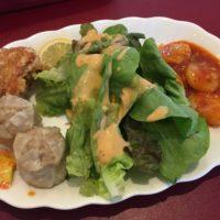 富里市七栄「エムズスタイル」本格中華がいろいろ食べられるプレートランチ