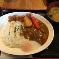 千葉駅西口ランチ「串かつ でんがな」早い!安い!美味い!三拍子揃ったランチメニューの牛すじカレー