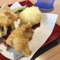 柏市大井「天ぷらめし 天之助」安くて美味い揚げたて天ぷらと充実したご飯のお供で腹パン確約!?