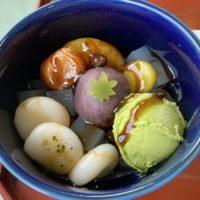 成田 なごみの米屋のカフェ「Cafe NAGOMI STAGE 飯田町店」でガレット&抹茶クリームあんみつ