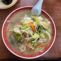 成田市北羽鳥 ちゃんこ店のような中華店「大雅飯店」伝統のタンメンは野菜の旨味があふれる優しい味わい